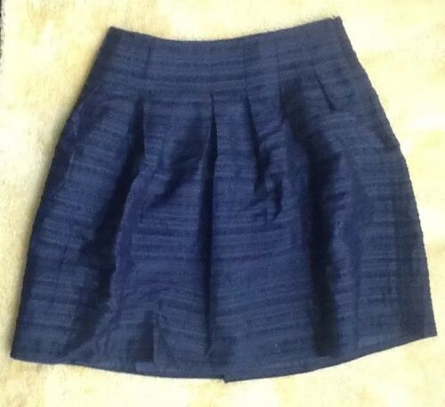 Talbots Sz Sparkle Black New Shimmer Skirt Pieghe Holidays 12p Petite dqEx6wa74