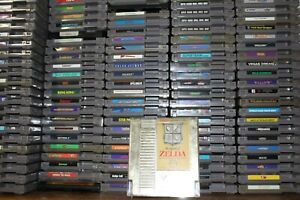 NES VIDEO GAMES - CREATE YOUR OWN BUNDLE - LOT - NINTENDO - NEW GAMES WEEKLY 😎
