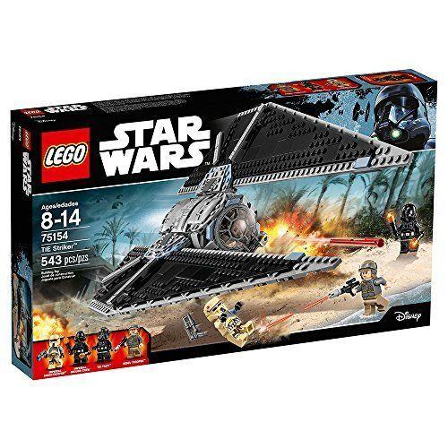 Lego Estrella Wars 75154 Tie Striker Rebel Trooper Piloto Minifiguras NISB
