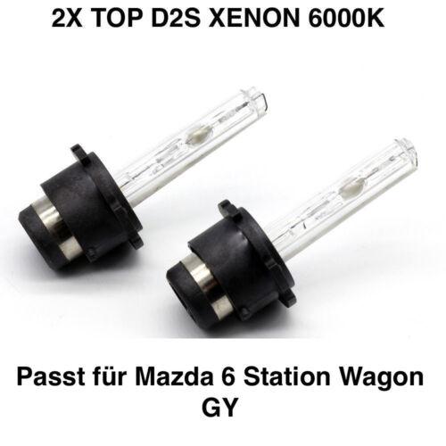 2x Neu D2S 6000K 35w Xenon Ersatz Brenner Mazda 6 Station Wagon GY