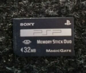 Official-Playstation-PSP-Memory-Card-32MB-Mb-MagicGate-Sony-Tested-Used
