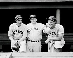 Gehrig-Dimaggio-McCarthy-Photo-8X10-Photo-Yankees-1937-Buy-Any-2-Get-1-Free