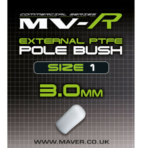 Maver MVR External PTFE Pole Bushes Assorted Sizes Pole Fishing