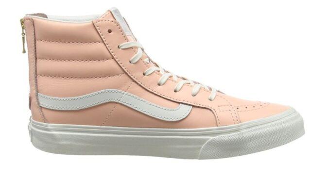 VANS Sk8 Hi Slim Mlx Leather Peach