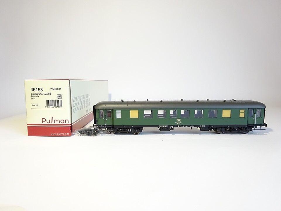 migliore qualità Pulluomo ESU h0 36153, società autorello autorello autorello tipo wgye 831, DB, verde, Nuovo, Confezione Originale  qualità autentica
