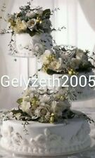 """3 TIER CASCADE WEDDING CAKE STAND SET 8""""/10""""/12"""""""