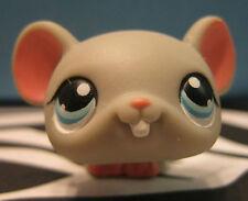Littlest Pet Shop #80 Gray Mouse w/ Pink Accents