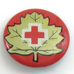 Canadian-Red-Cross-Society-Charitable-Organization-Pin-0-75in-1-4g-I785