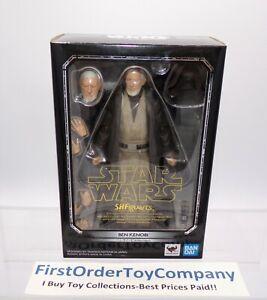 Star Wars Bandai SH Figuarts Ben Obi-Wan Kenobi Figure NEW SEALED AUTHENTIC