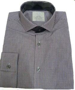 EX-M-amp-S-Marks-And-Spencer-Cotton-Rich-Slim-Fit-Long-Sleeve-Shirt