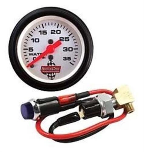 QuickCar Water Pressure Kit with Gauge IMCA Spring Car Guages Gauges Racing UMP
