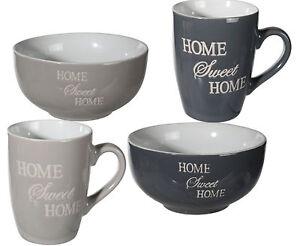 Kaffeetasse Home Sweet Home (2 er Set) | Geschenkewunderland