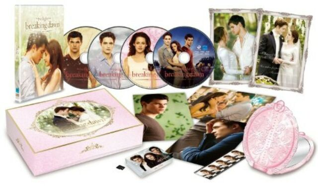 Breaking Dawn Part1 Twilight DVD & Blu-ray Premium 3000Set Ltd BOX NEW JAPAN