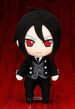 Anime Black Butler Kuroshitsuji Sebastian Michael Plush Toy Doll Figure Pillow