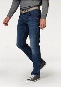 9431d79dbb68 Details zu Mustang Jeans Big Sur W30 L32 Herren Stretch Denim Hose Blue  Straight Comfort