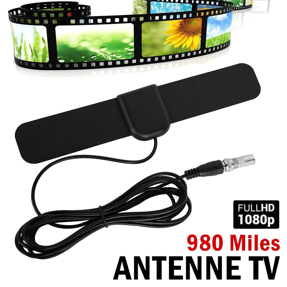 chocolate08 Digital TV Antenna Flat 1080P Indoor Signal Booster Amplifier 4K HDMI TV Signal1