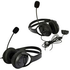 2 Packs Live Headset Headphone With Microphone for XBOX 360 Slim NEW US Black
