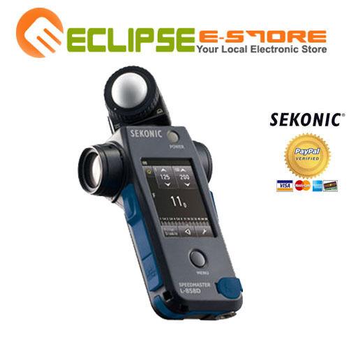 Brand NEW Sekonic L-858D Speedmaster Light Meter DSLR Camera Kit
