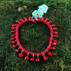 Fashion Jewelry 100% Quality Hoti Hemp Handmade Red Hot Pastel Bells Anklet Ankle Bracelet Hand Crafted Nwt Preventing Hairs From Graying And Helpful To Retain Complexion