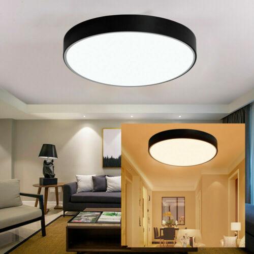 Dimmbar 18-48W LED Deckenlampe Deckenleuchte Wohnzimmer Lampe Fernbedienung