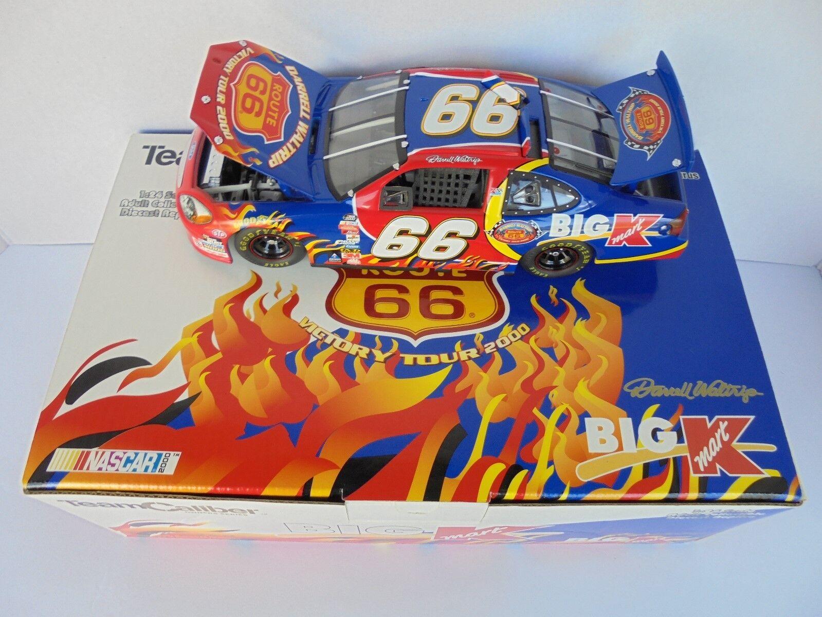 Darrell Waltrip Route 66 Victory Tour 2000 FORD TAURUS Terminaison 1 24 NASCAR Diecast