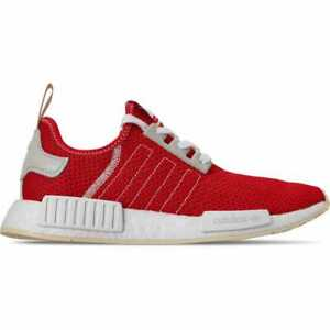 free shipping 3bd46 a8309 Details about Men's adidas NMD Runner R1 Casual Shoes Active Red/Active  Red/Ecru Tint S18 BD78