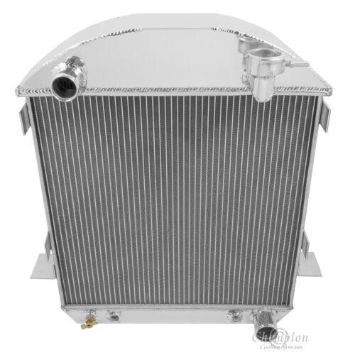 1923 1924 1925 1926 1927 FORD T-BUCKET W// CHEVY ENGINE DR 4 Row Radiator