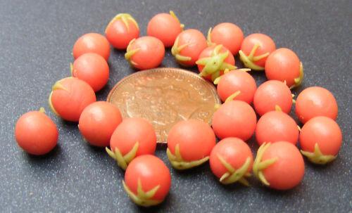 1:12 escala 9 maduración tomates tumdee casa de muñecas en miniatura de accesorios de verduras