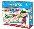 Language Arts File Folder Game, Grade K: File Folder Games by Carson-Dellosa Publishing (Undefined, 2013)