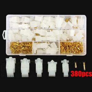 40 Set Wasserdicht Steckverbinder Kabel Stecker 2.8mm Für KFZ Motorrad Satz Kit