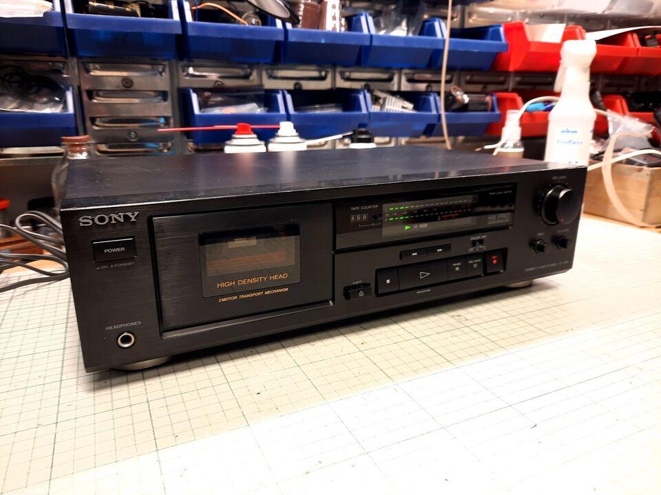 Båndoptager, Sony, TC-K370
