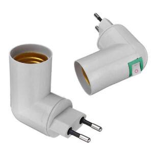 PP-To-E27-Base-LED-Light-Lamp-Holder-Bulb-Adapter-Converters-Screw-Socket-Switch
