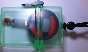 Digital Mitteldrucktester - Mitteldruckprüfer - Mitteldruckmanometer + klare Box