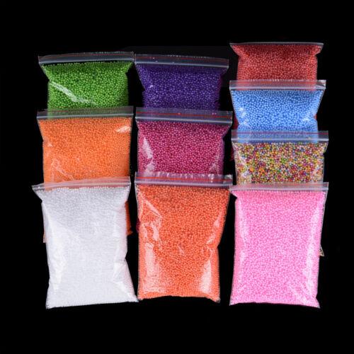 Slime Mini Foam Balls Beads Balls Crafts Home Party Wedding Decoratio RAC