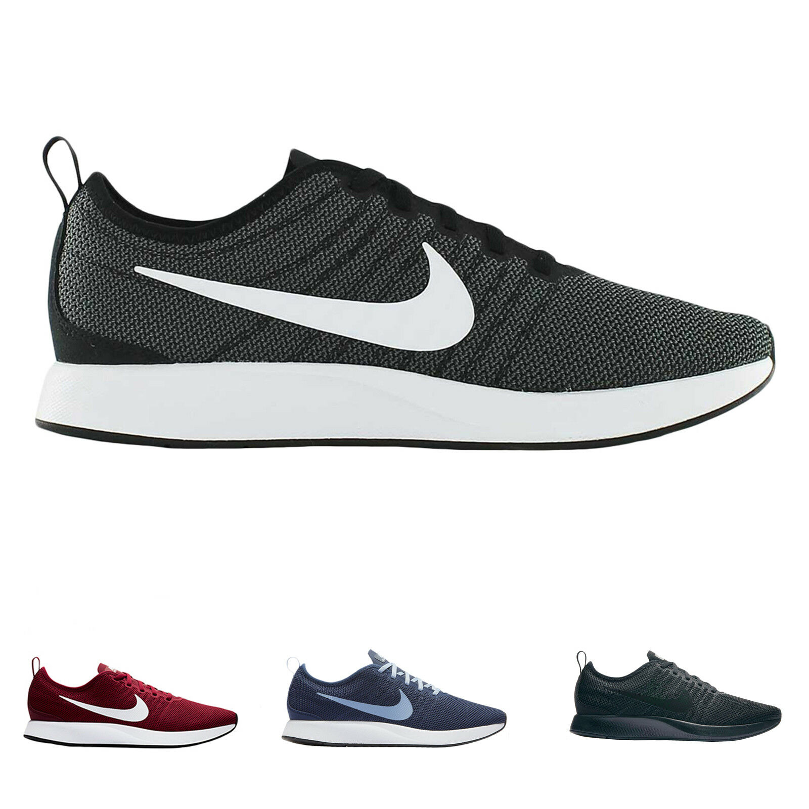 Nike Dualtone Racer Mesh Casual Lace-Up Low-Top Running Sneakers Mens Trainers