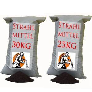 STRAHLMITTEL-STRAHLGUT-SANDSTRAHLEN-STRAHLSAND