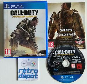 Call of Duty Advanced Warfare / Playstation 4 / PS4 / PAL / FR
