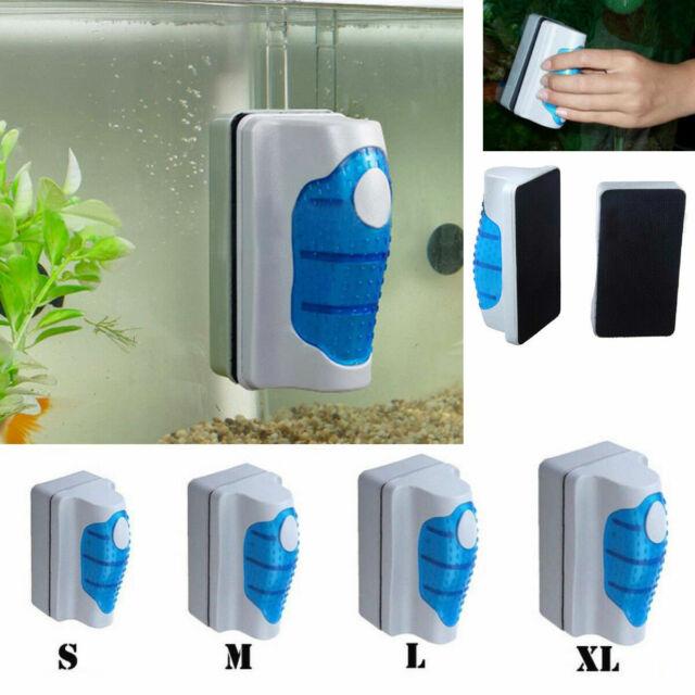 Magnetic Aquarium Glass Algae Scraper Cleaner Floating Clean Brush S Keychain For Sale Online Ebay
