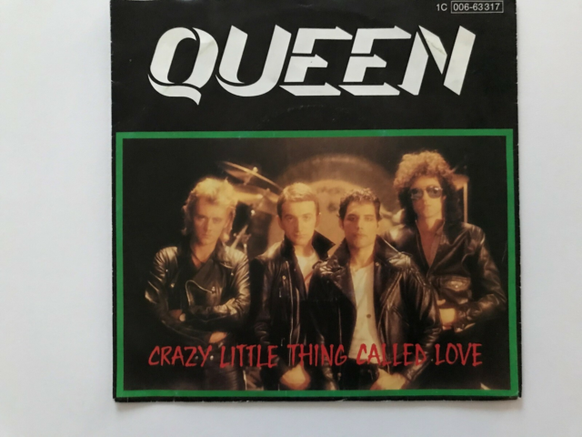 Single, Queen, Crazy Little Thing Called Love EMI ?– 1C…
