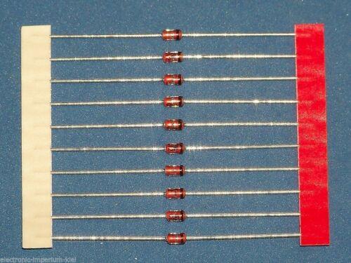 1,3 W 10 x Zenerdioden 36 V