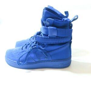 503a7156fd11 Nike SF Air Force 1 AF1 Game Royal Suede   Nylon 864024-401