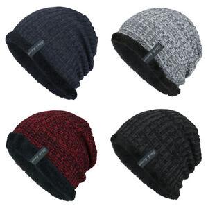 Caricamento dell immagine in corso LK-EG-MODA-MAGLIA-spesso-Caldo-cappello- invernale- a5ec58ef9bb1