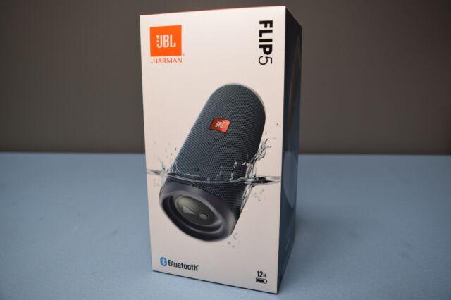 JBL Flip 5 / Flip5 Waterproof Portable Rechargeable Bluetooth Speaker BLUE (22E)