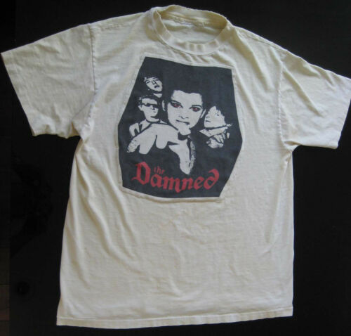 THE DAMNED RARE VINTAGE 70s 80s PUNK ROCK GOTH TOUR CONCERT PROM