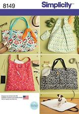 Simplicity Sewing Pattern Totes & Trave Perro Cama 8149 un