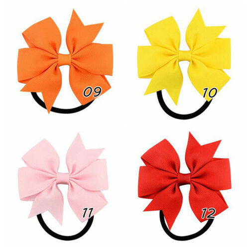 20PCS Hair Ties Rope Ring Hairbands Bands Hoop for Baby Girls Toddler Kids Women