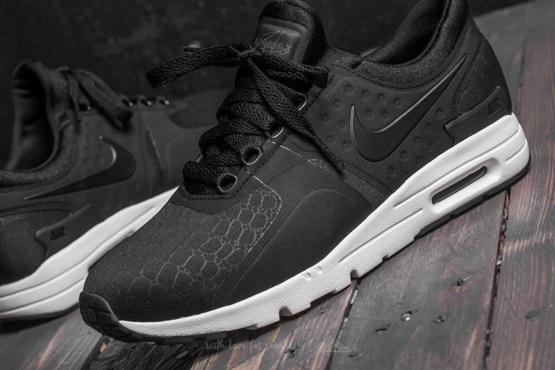 Nike WMNS Air Max Zero Premium (Black   Black   Sail   Dark Grey) Gr. 36