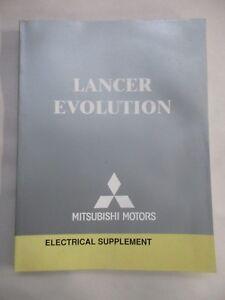 2004 MITSUBISHI LANCER EVOLUTION ELECTRICAL WIRING DIAGRAM ...
