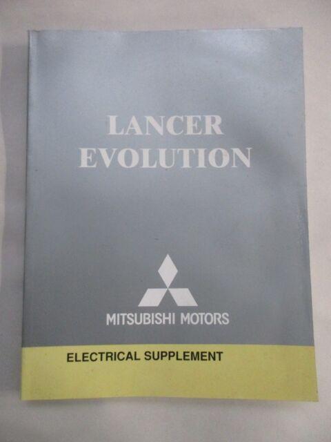 2004 Mitsubishi Lancer Evolution Electrical Wiring Diagram Service Manual