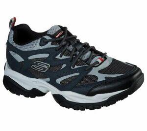 Men's Skechers Navy Shoes Memory Foam Sporty Train Comfort